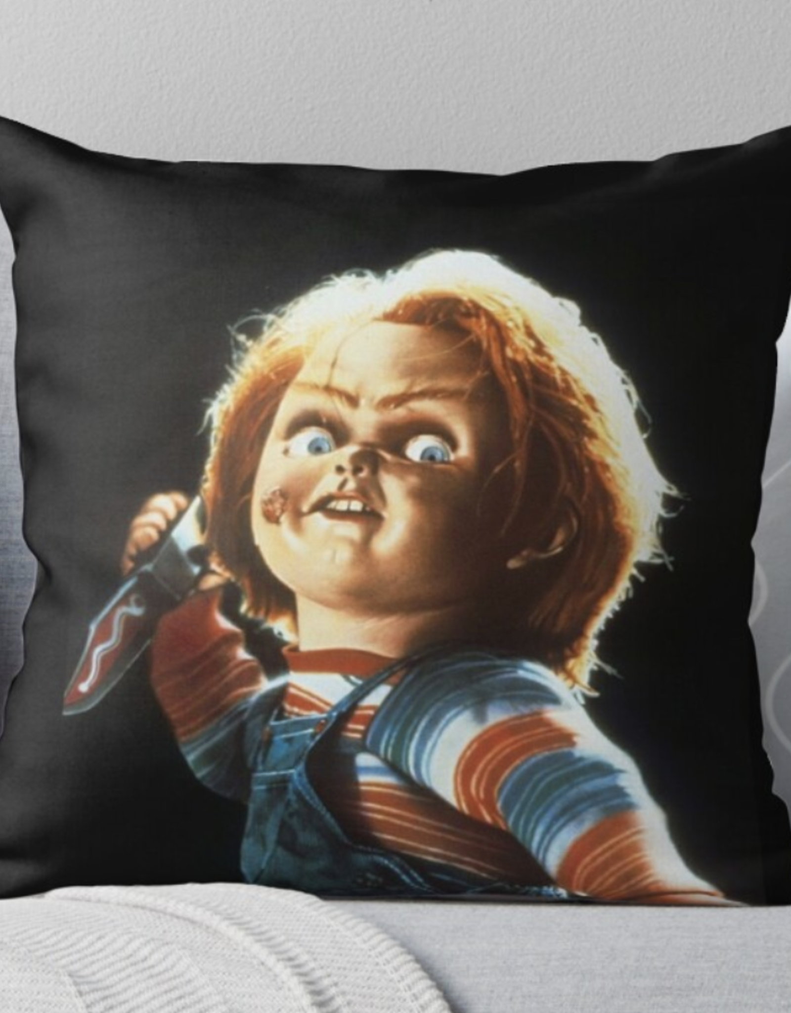 Chucky Throw Pillow
