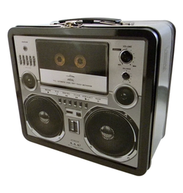 "Boombox Lunch Box - 7.75"" x 6.75"""