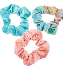 Coastal Velvet Scrunchie Set