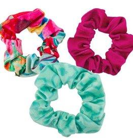 Watercolour Velvet Scrunchie Set
