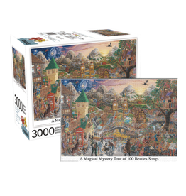 Beatles Magical Mystery Tour Puzzle - 3000 Piece