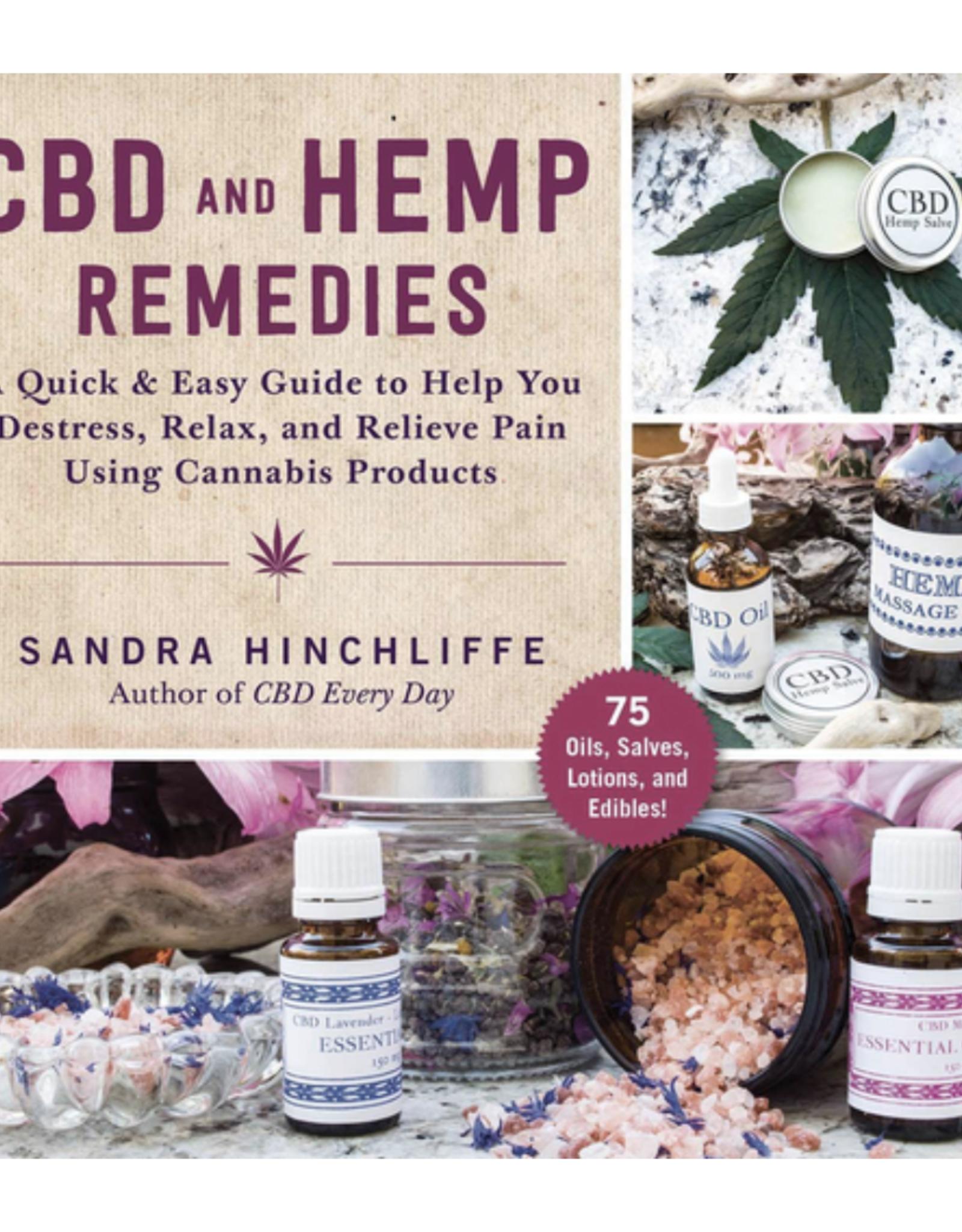 CBD and Hemp Remedies by Sandra Hinchcliffe