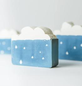 Cold November Rain Soap by Soco Soaps
