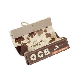 OCB OCB Virgin Unbleached King Size Slim Roll Kit