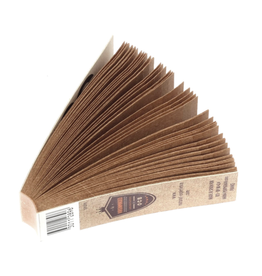 OCB OCB Virgin Unbleached Filters Perforated Booklets