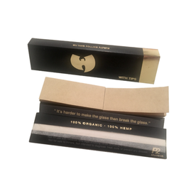 Wu-Tang King Size Slim Rolling Papers with Tips