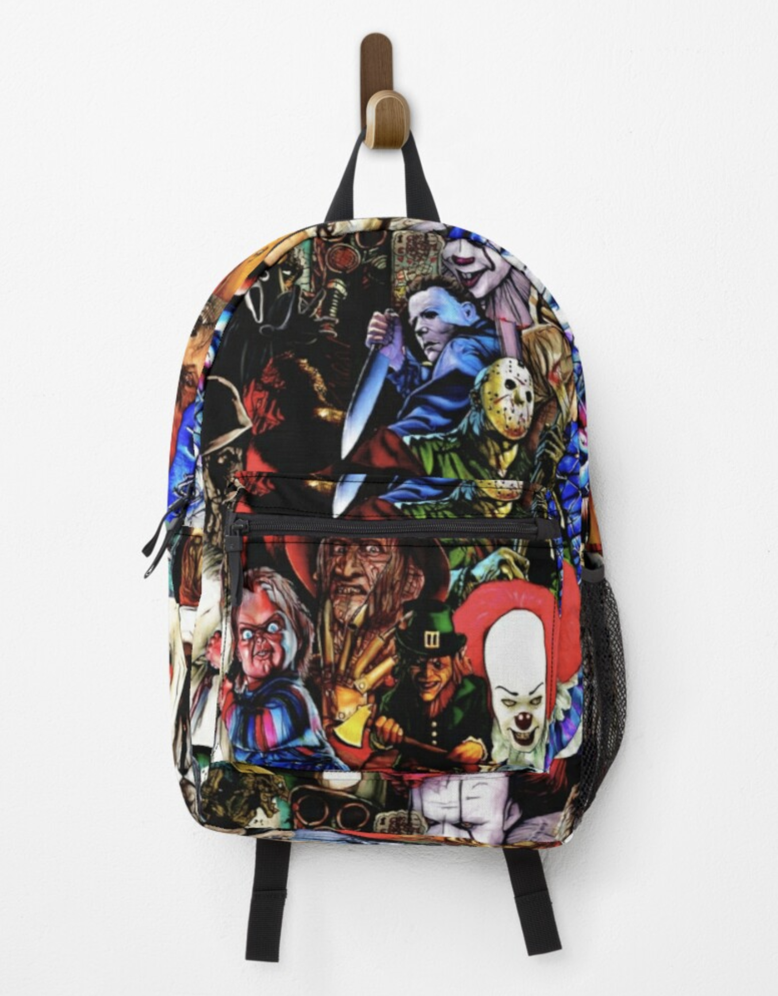 Collage of Horror Backpack