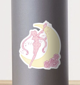 Sailor Moon Silhouette Sticker