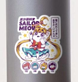 Sailor Meow Sticker