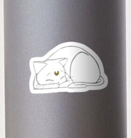 Simple Sailor Moon Cat Sticker