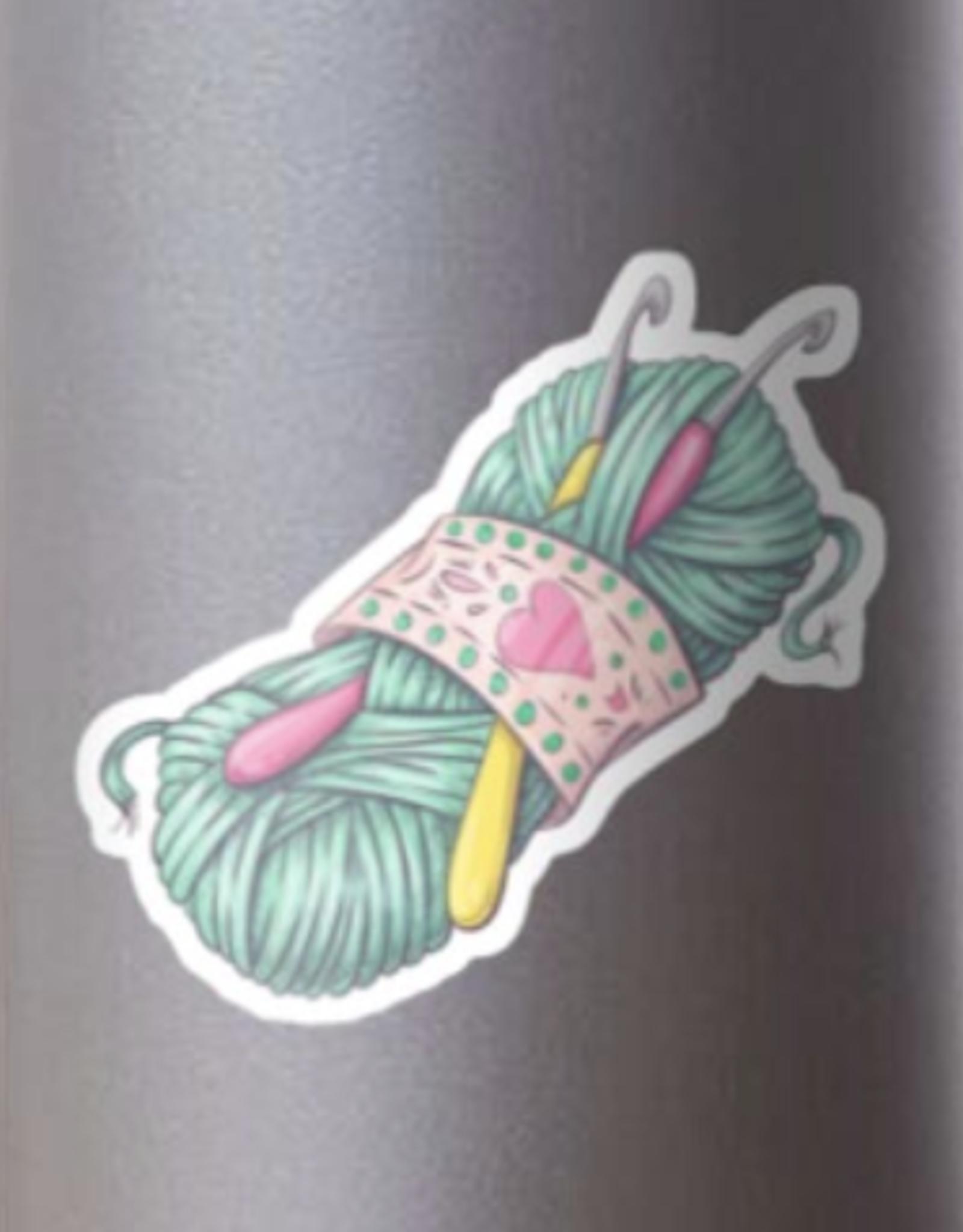 Crochet Sticker