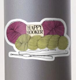 Happy Hooker Sticker