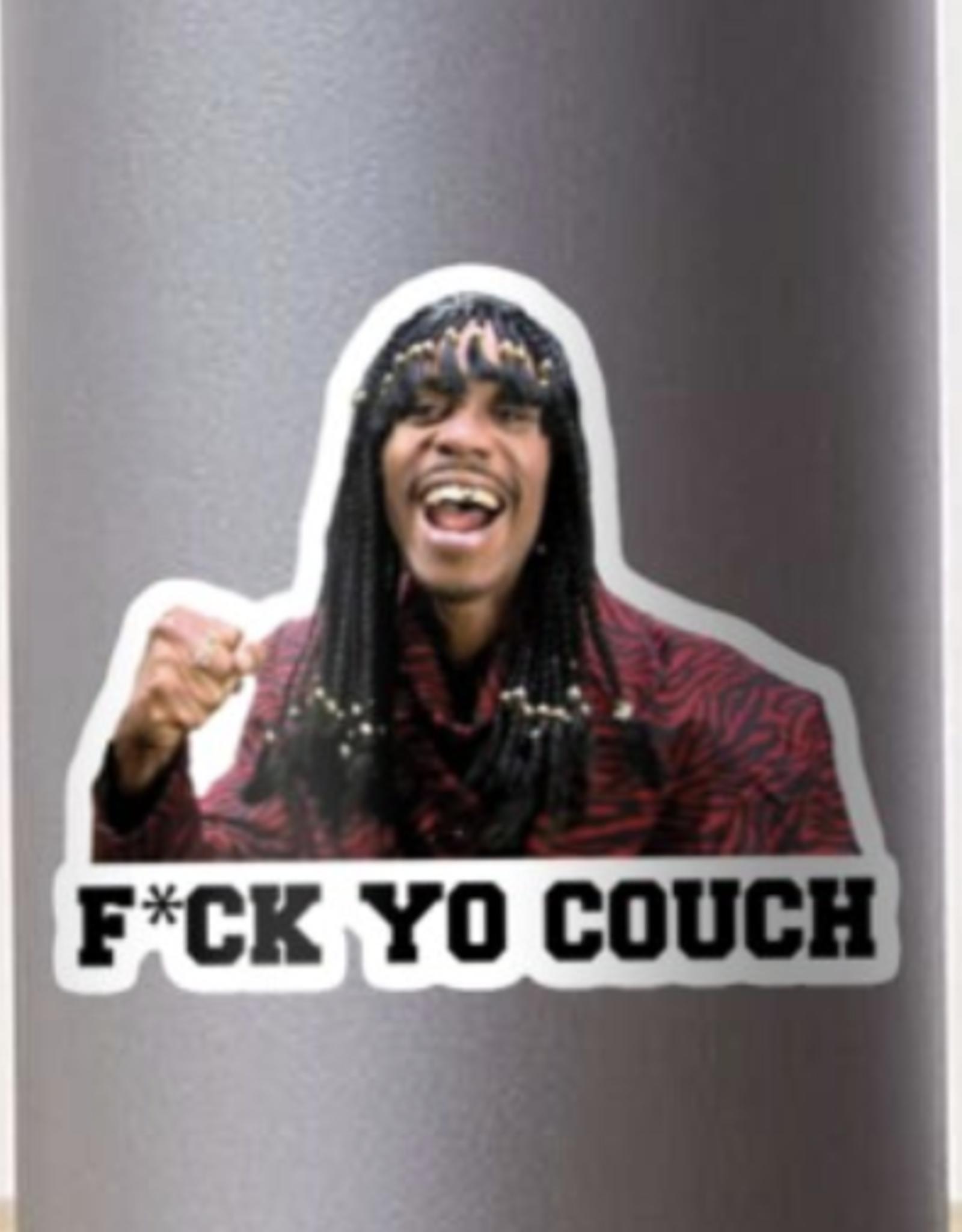 F*ck Yo Couch Sticker