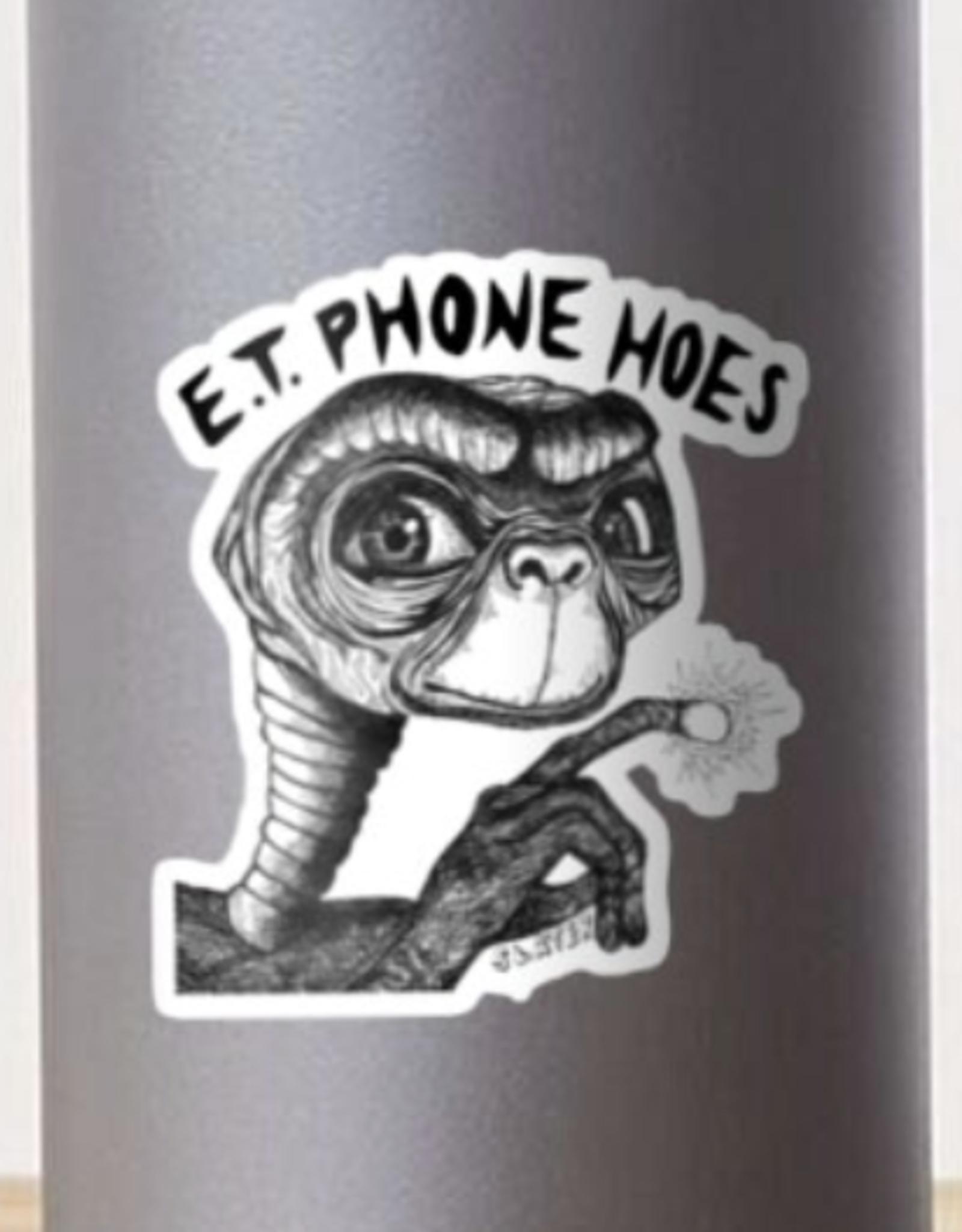 ET Phone Hoes Sticker