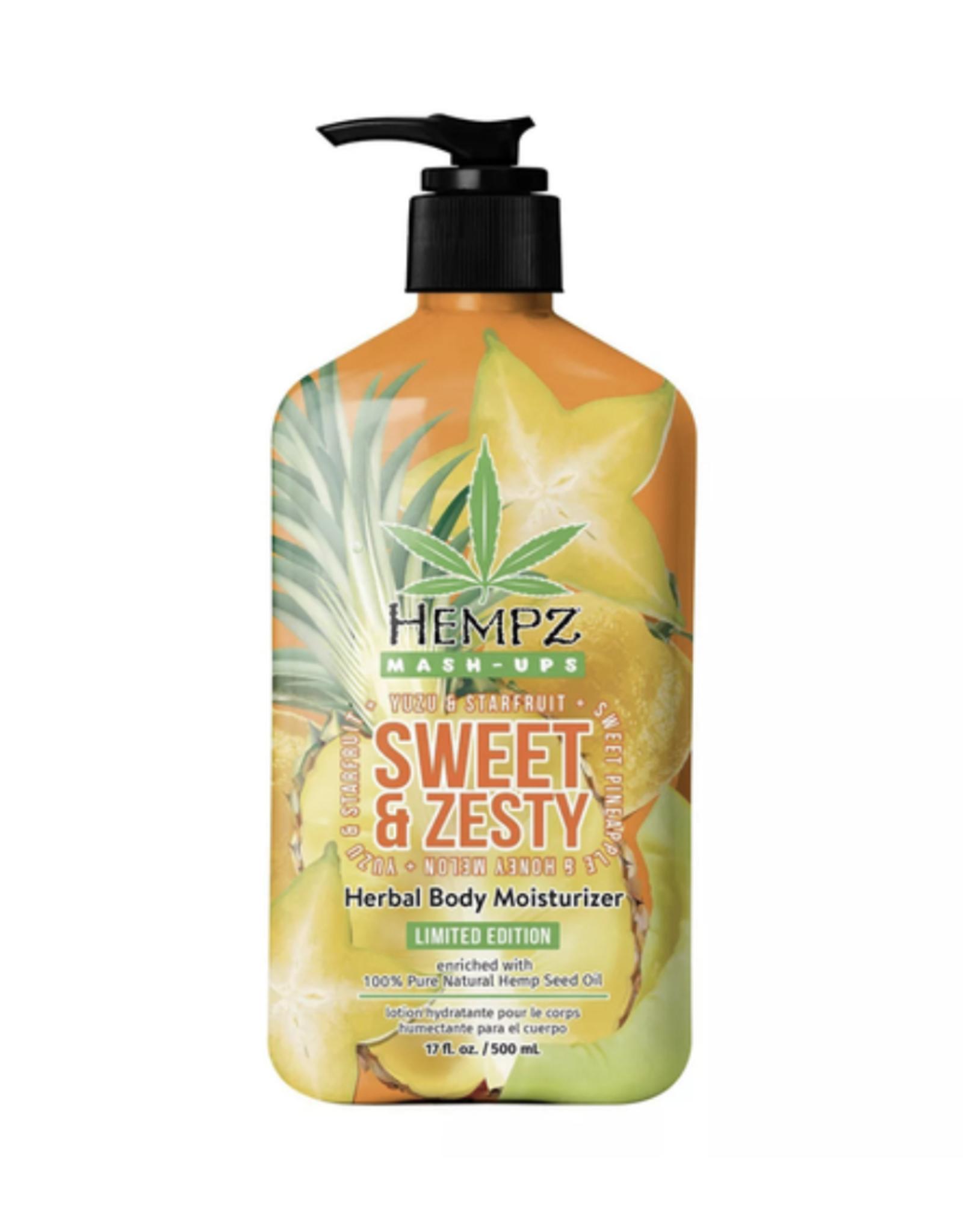Hempz Hempz Sweet & Zesty Moisturizer 17oz