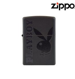 Zippo Playboy Black Matte Zippo