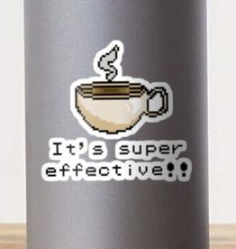 It's Super Effective!! Sticker