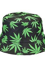 Cannabis Leaf Bucket Hat