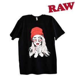 RAW RAW Smoking Girl Shirt