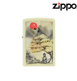 Zippo Pogoda Bonsai Buddha Zippo