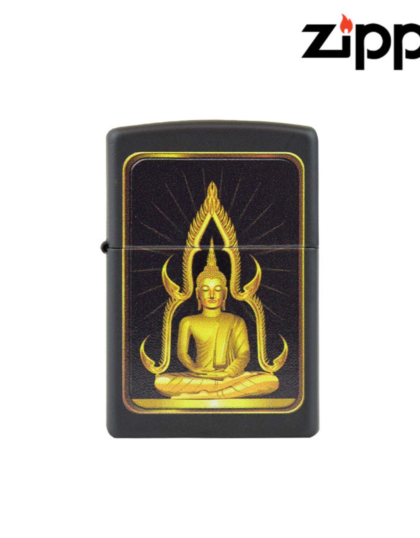 Zippo Gold Buddha Design Zippo