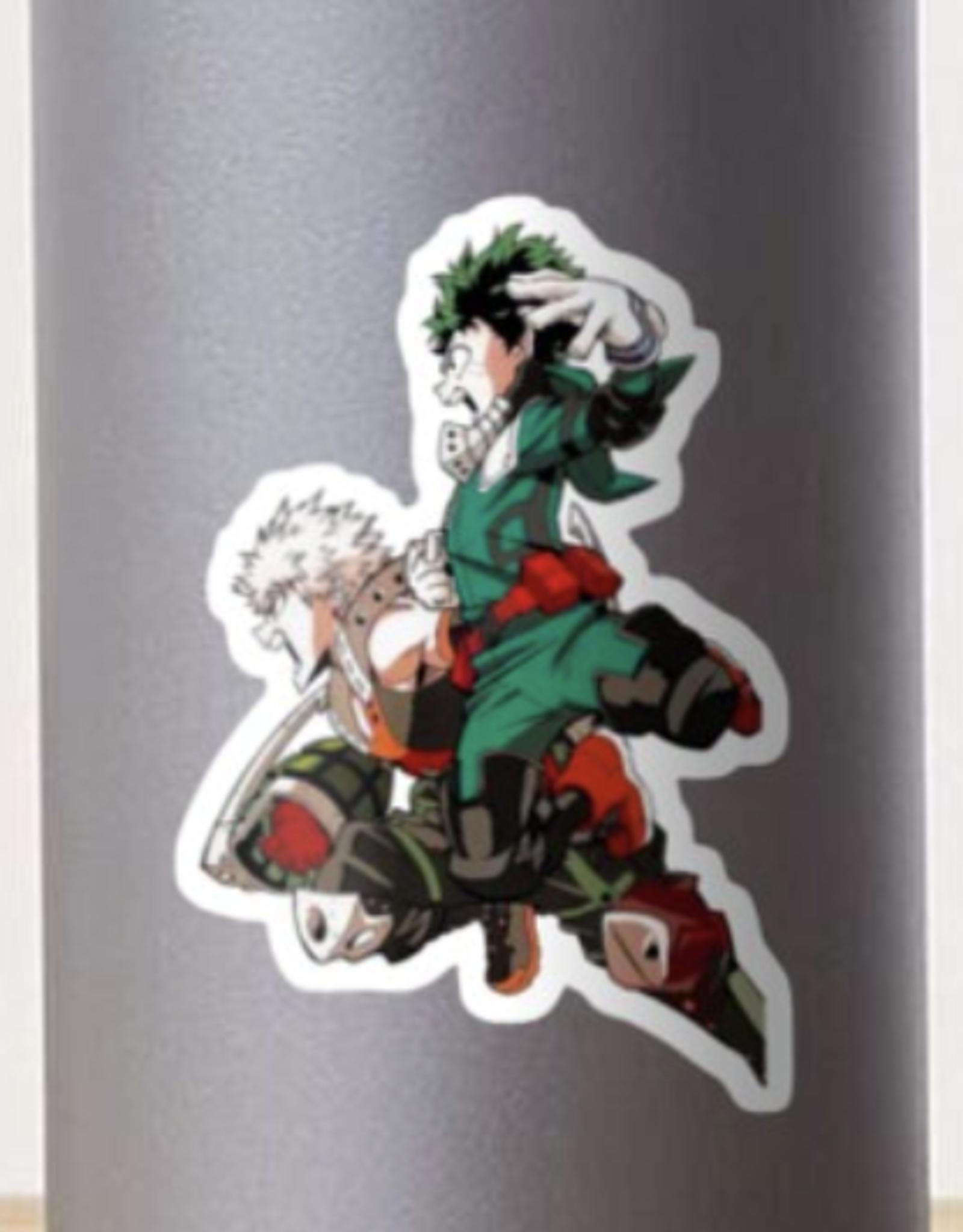 Deku and Bakugou Sticker