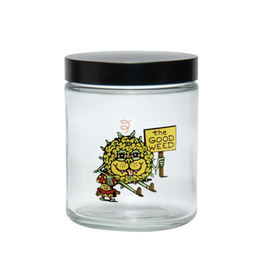 420 Science Clear Screw Top Jar Large - Killer Acid - The Good Weed