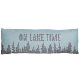 Long Lumbar Pillow - Lake Time