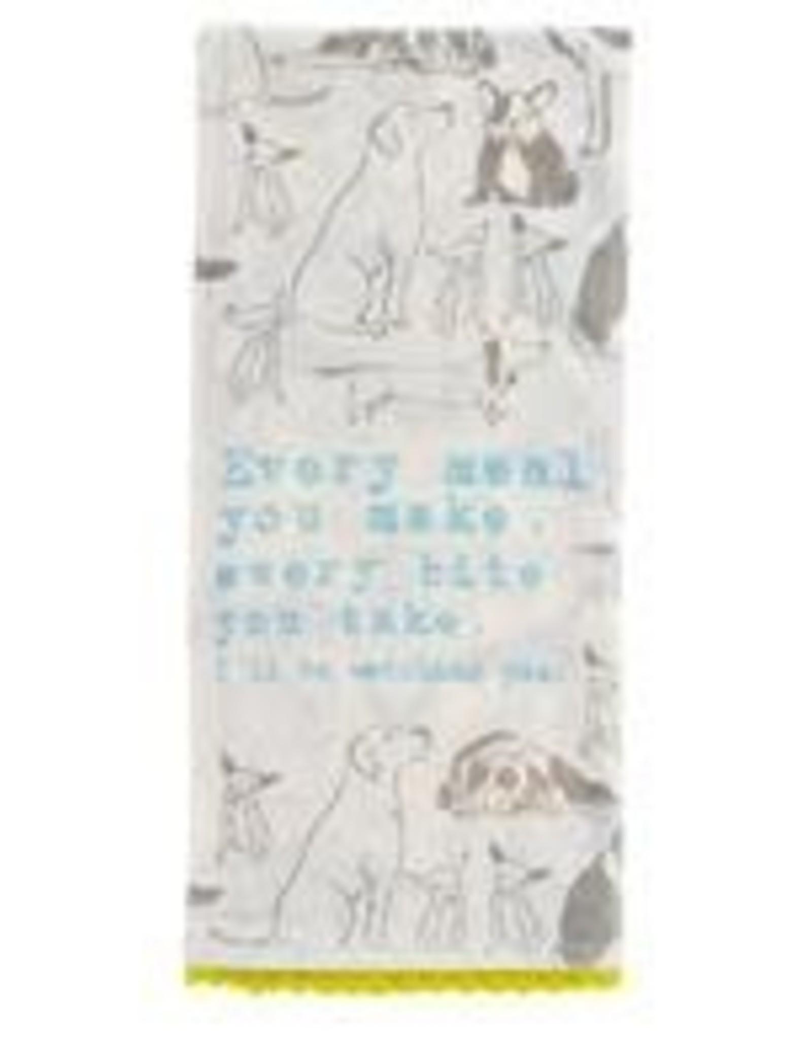 Dog Flour Sack Tea Towel