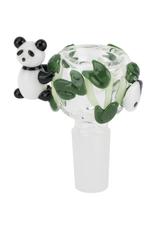 14mm Male Panda Fam Bowl by Empire Glassworks