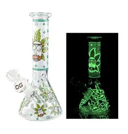 "8"" Lime Glow in the Dark Beaker"