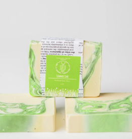 Summer Lime Soap by Soco Soaps