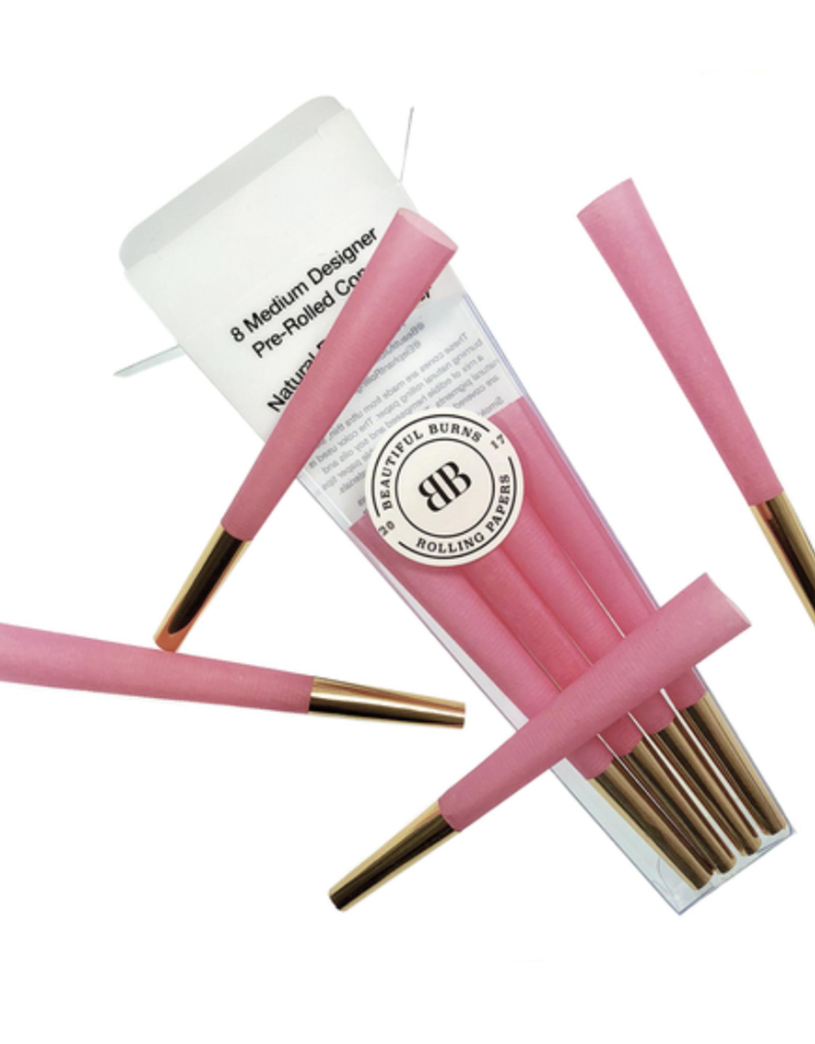 Beautiful Burns - Power Pink Pre-Rolled Designer Cones