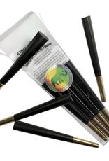 Elephant Brands Black w/ Gold Tip - Pre-Rolled Designer Cones (8 Pack)