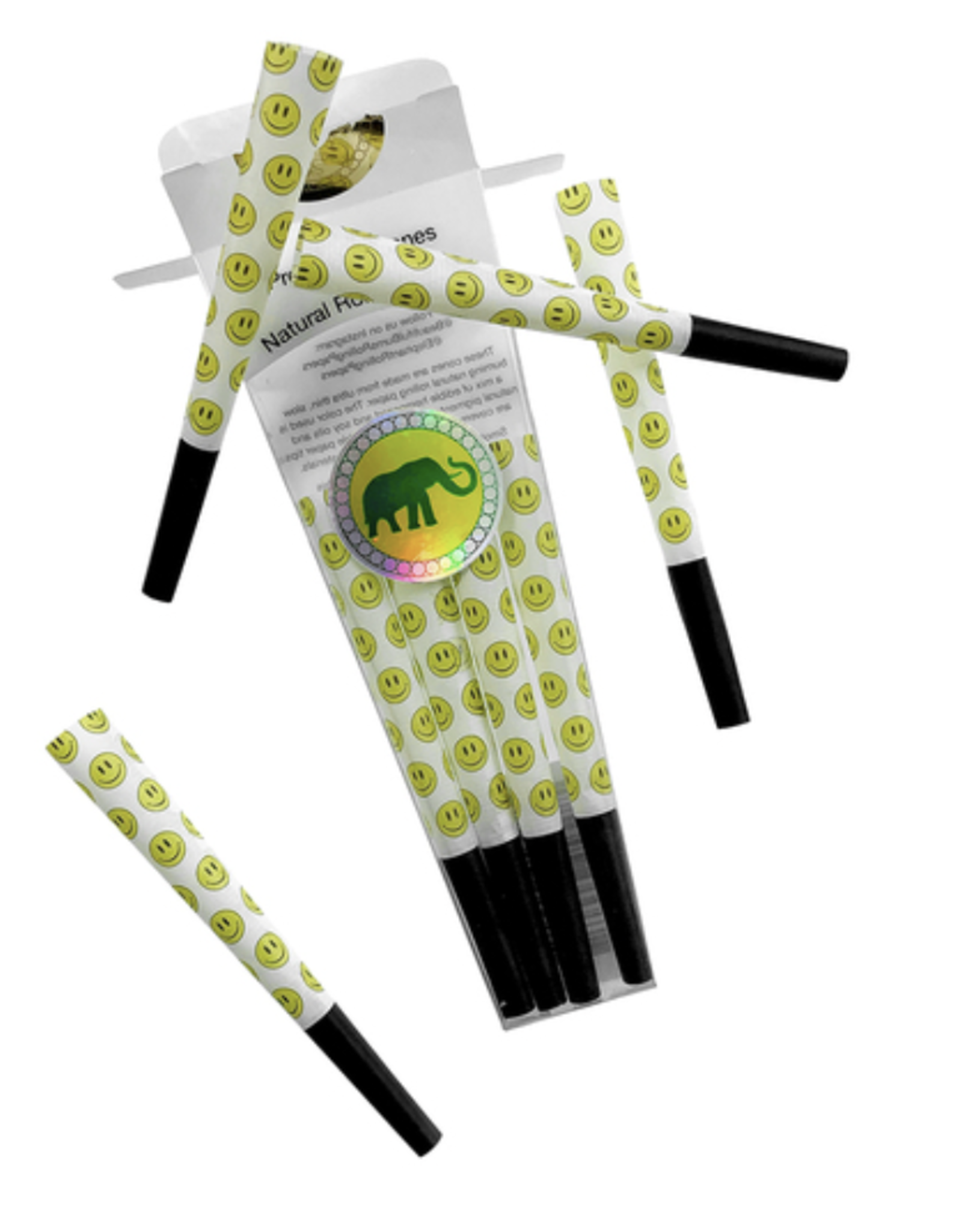 Elephant Brands Happy Daze - Pre-Rolled Designer Cones (8 Pack)