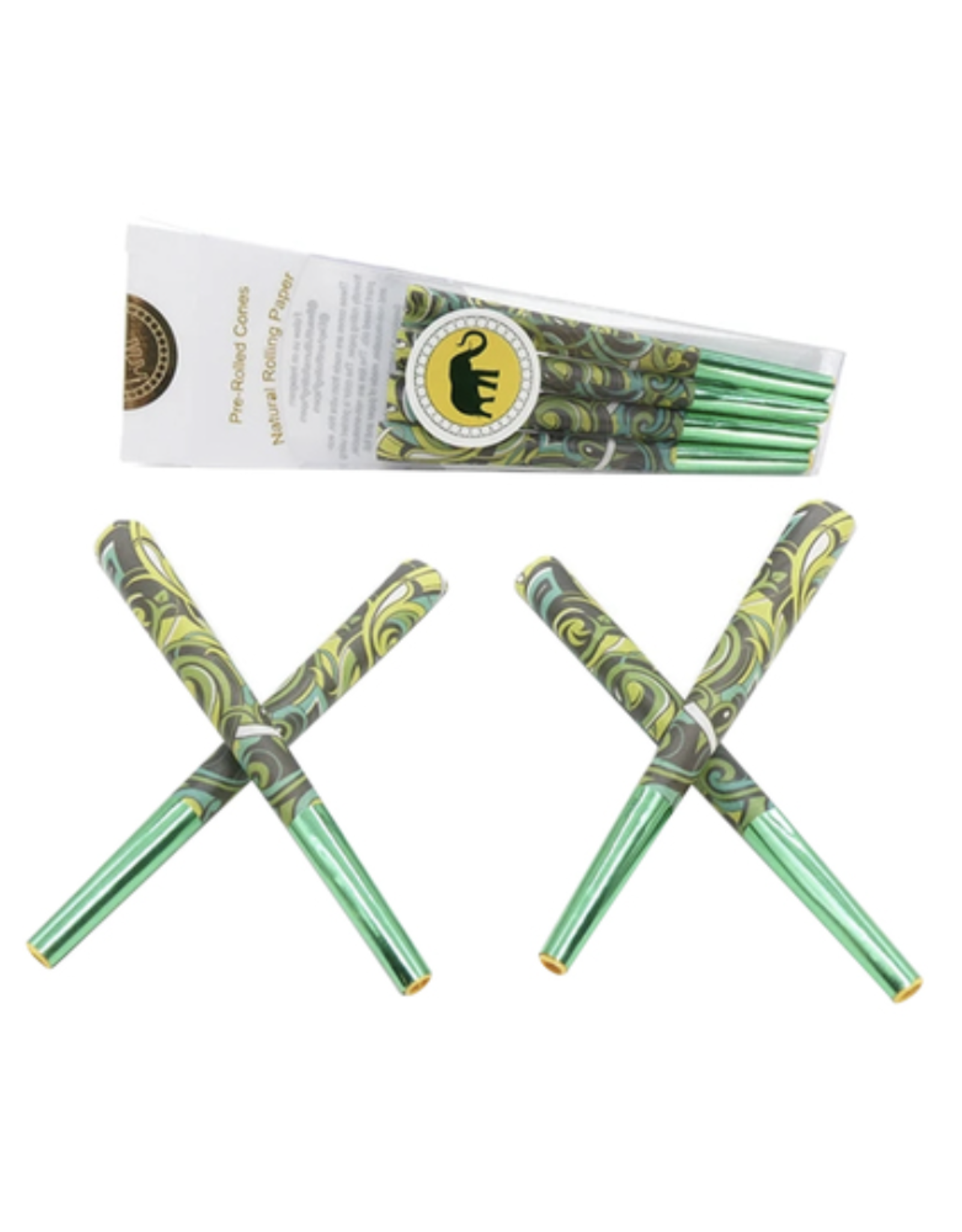 Elephant Brands Street Art - Pre-rolled Designer Cones (8 Pack)