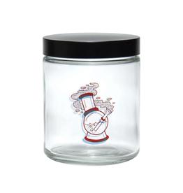 420 Science Large Screw Top Jar - 3D Water Pipe