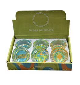 "Scooby 3.3"" x 1.4"" Glass Ashtray by Giddy"