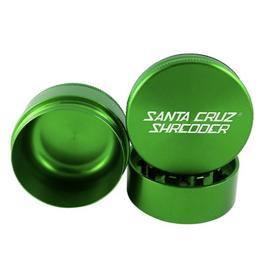 "Santa Cruz Shredder Green 2.75"" 3-Piece Grinder"