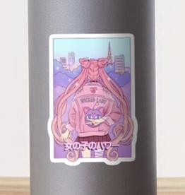 Sailor Guardian: Girl Power! Sticker