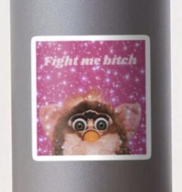 Fight Mode Furby Sticker