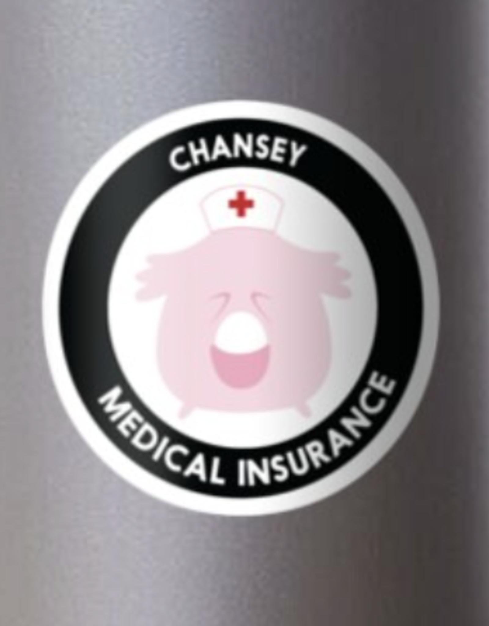 Chansey Medical Insurance Sticker