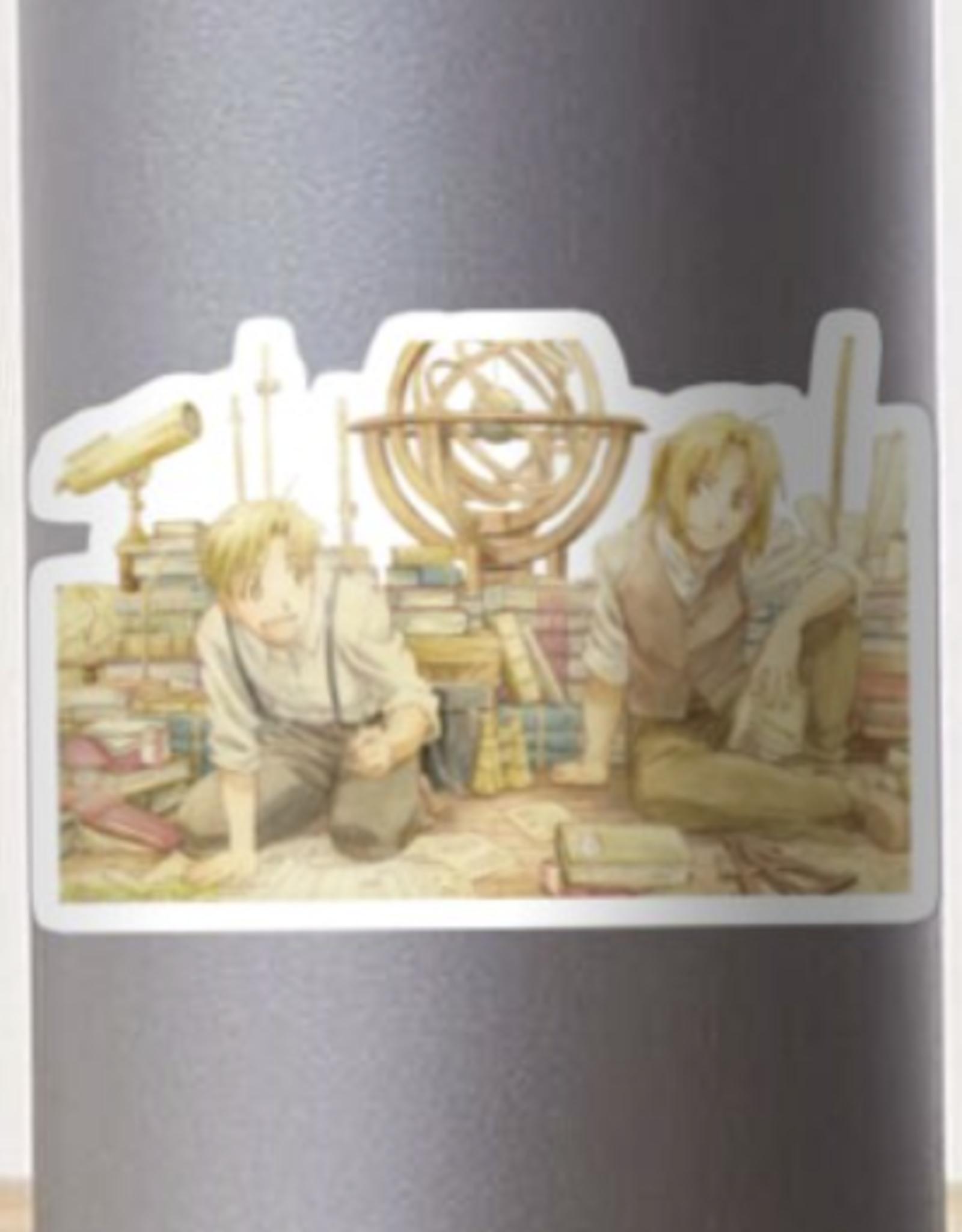 Edward and Alphonse Elric Sticker