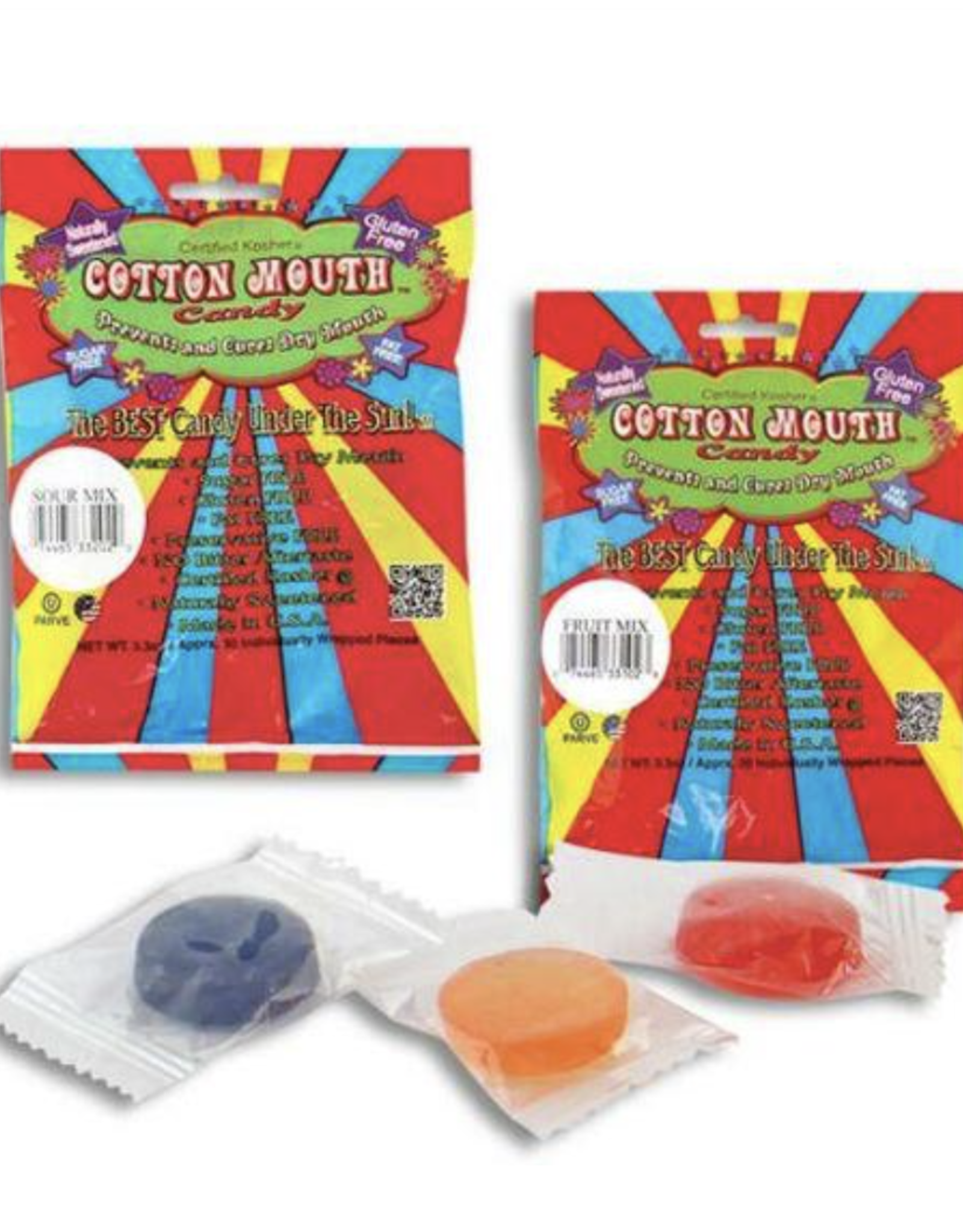 Cotton Mouth Candy - Fruit or Sour Mix