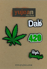 Cannabis Enamel Pin Pack