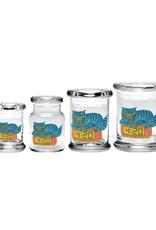 420 Science Pop Top Jar - 420 Cat