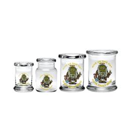 420 Science Pop Top Jar - Jesus Bud
