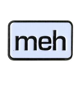 Meh Enamel Pin