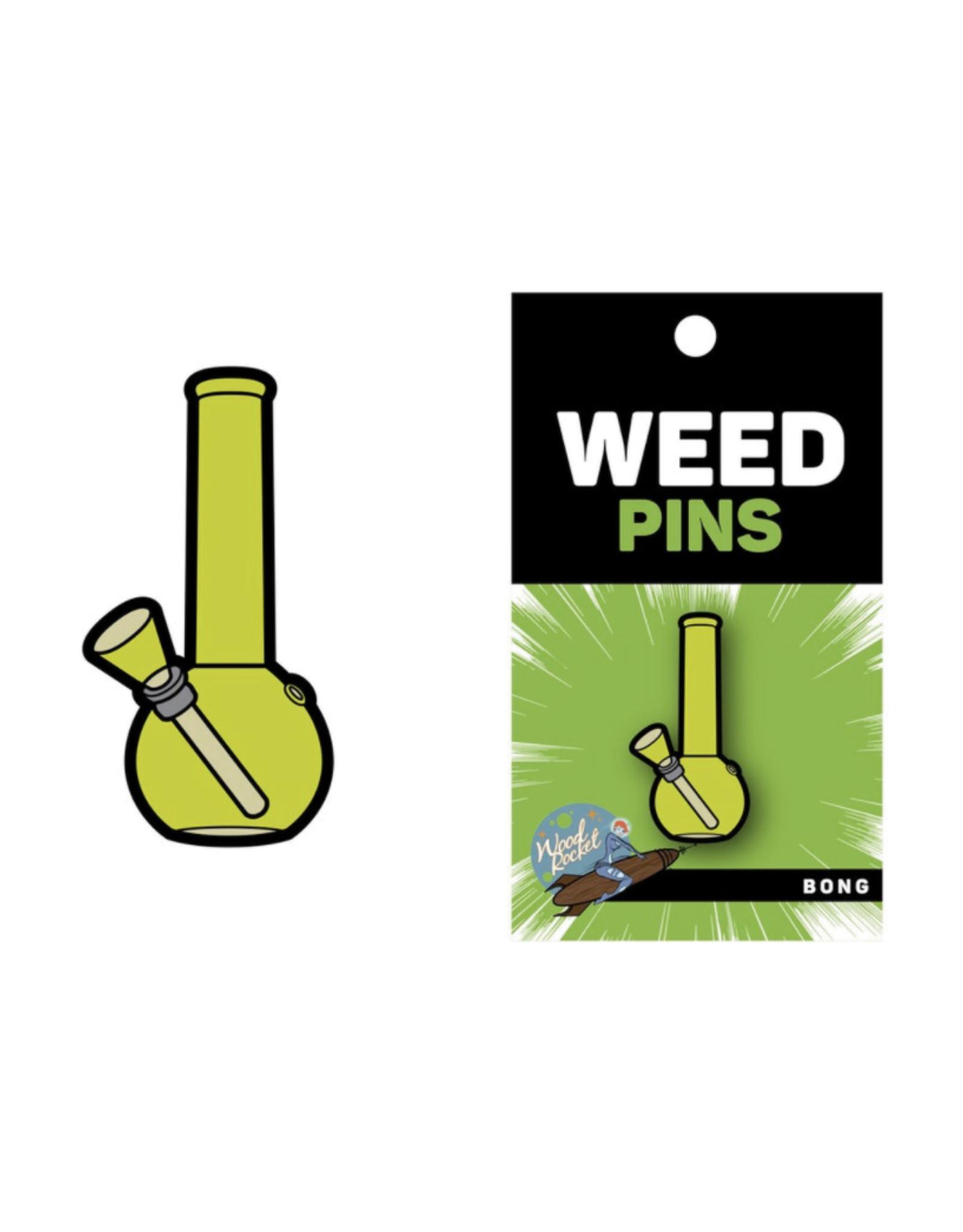 Bong - WoodRocket Weed Pins