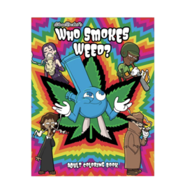 Who Smokes Weed? Colouring Book